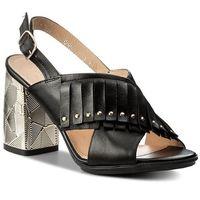 Sandały ANN MEX - 8755 01S Czarny, kolor czarny