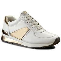 Sneakersy MICHAEL MICHAEL KORS - Allie Plate Wrap Trainer 43R7ALFS4L085 Optic White, 1 rozmiar