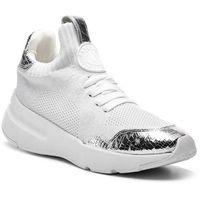 Sneakersy - pamela k4899682 wht/silver wtl marki Dkny