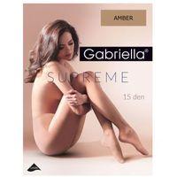 Gabriella Rajstopy supreme 15 den, rozmiar 2, kolor amber
