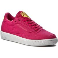 Buty - club c 85 eh bd2008 pink craze/yellow/white, Reebok, 35-40.5