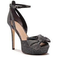 Sandały - fl5lr2 fam03 black marki Guess