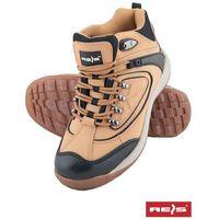 Trzewiki robocze brązowe Reis BRPIT HB 40, kolor brązowy