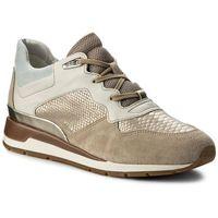 Sneakersy GEOX - D Shahira B D62N1B 022KI CH62L Lt Taupe/Lt Gold