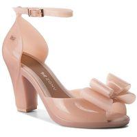 Sandały - diva top sandal fem 82442 light pink 52898 aa285085 02064 marki Zaxy