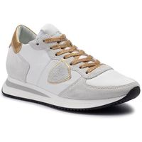 Philippe model Sneakersy - trpx tzld wx07 blanc or