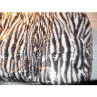 KOCYK - SZLAFROK 2 in 1super koc z rękawami zebra