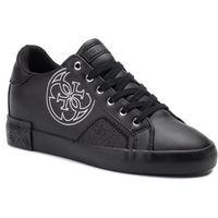 Guess Sneakersy - pica fl7pic ele12 black/black