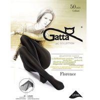 Rajstopy Gatta Florence 50 den ROZMIAR: 3-M, KOLOR: grafitowy/londra, Gatta