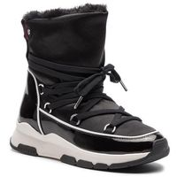 Buty - cool technical satin winter boot fw0fw03697 black 990, Tommy hilfiger, 36-40