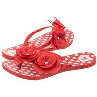 Japonki Zaxy Fresh New Garden Thong FE 82036/90062 Red (ZA39-b), 82036/90062