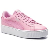 Sneakersy - vikky stacked l 369143 04 pale pink/pale pink marki Puma