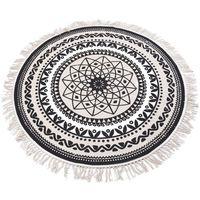 Okrągły dywan dekoracyjny Ø 120 cm marki Home styling collection