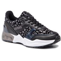 Sneakersy - teknical fl6tkn ele12 black, Guess, 36-40