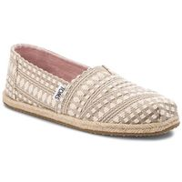 Espadryle TOMS - Classic 10011647 Oxford Tan Diamond