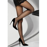 orit 08 den black rajstopy w kropki marki Livco corsetti fashion