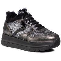 Sneakersy - maran fur 0012014296.03.1a21 argento/f.do nero, Voile blanche, 36-41