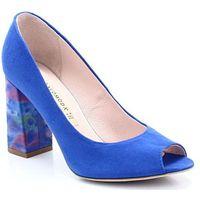 BRAVO MODA 1603 CHABROWE - Czółenka bez palców - Niebieski ||Granatowy, kolor niebieski