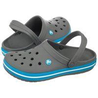 Klapki Crocs Crocband Chorcoal / Ocean 11016 (CR4-y)