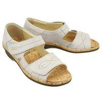 710872-9 ivory, sandały damskie, Comfortabel