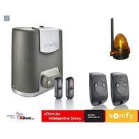 Nowe elixo 800 230v eco comfort pack (2 piloty 2-kanałowe keytis rts, zestaw fotokomórek, lampa ostrzegawcza) marki Somfy