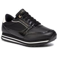 Tommy hilfiger Sneakersy - tommy retro branded sneaker fw0fw04305 black 990