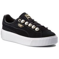 Sneakersy PUMA - Suede Platform Bling Wn's 366688 01 Puma Black/Puma Black, kolor czarny