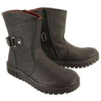 tex y3478-00 black, botki damskie, Rieker