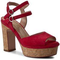 Sandały TWINSET - Sandalo CS7TXN Ciliegia 00034, kolor czerwony