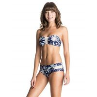 Strój kąpielowy - bandeau/shorty paisley song combo sailor blue (bsq6), Roxy