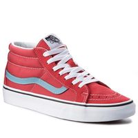 Sneakersy - sk8-mid reissure vn0a3mv8q8c rococco red/adriatic blue marki Vans