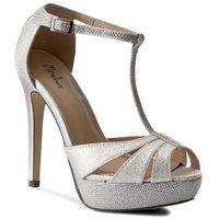 Sandały MENBUR - 06542 Silver 0009, kolor szary