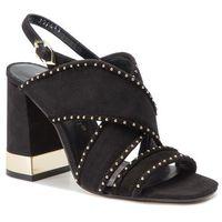 Sandały BRUNO PREMI - Camoscio BW2102P Nero, w 6 rozmiarach