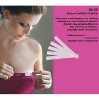 Julimex Plastry comfort fashion ba-09 20mm a'20 20mm, transparentny, julimex