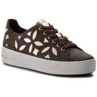 Sneakersy MICHAEL MICHAEL KORS - Mimi Lace Up 43T8MIFS1B Brn/Plgold, 1 rozmiar