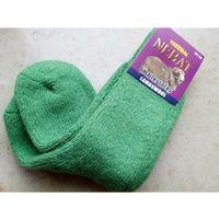 Skarpety rozgrzewające wełniane (80%) thermal - rozm. 36-39 zielone - prod. nebat marki Nebat (turcja)