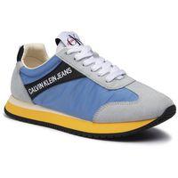 Sneakersy CALVIN KLEIN JEANS - Jill R8527 Multi Silver Lake Bl, kolor szary