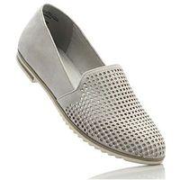 Buty wsuwane Marco Tozzi bonprix jasnoszary, 1 rozmiar