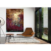 Duże obrazy na zamówienie - ekskluzywne dekoracje ścienne - do restauracji, apartametów, loftów, salonu z antresolą marki Pracownia art.&texture
