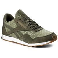 Buty - cl nylon slim txt lux bs9446 hunter green/white/gum, Reebok