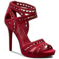 Sandały MICHAEL MICHAEL KORS - Honey 40R7HNHA1S Cherry, kolor czerwony