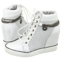 Sneakersy Carinii Białe Ażurowe B3968/OT (CI215-a), B3968/OT-I81-000-000-B88