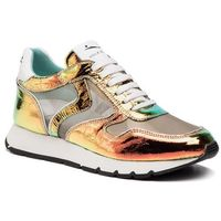 Sneakersy - julia mesh 0012013488.02.1g05 arancio/platino, Voile blanche, 37-38
