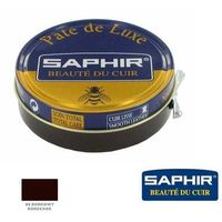 Bordowy / bordeaux, pasta do butów / wosk 50ml - puszka SAPHIR 08