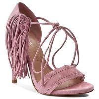 Sandały STUART WEITZMAN - Pompom Candy Suede