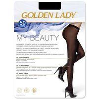 Rajstopy my beauty 50 den rozmiar: 3-m, kolor: czarny/nero, golden lady, Golden lady