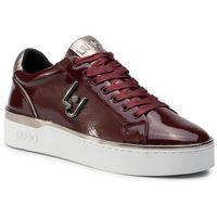 Liu jo Sneakersy - silvia 01 b69015 p0131 bordeaux s1703