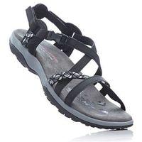 Sandały skechers czarny marki Bonprix