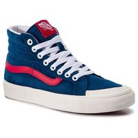 Sneakersy VANS - Sk8-Hi Reissue 13 VN0A3TKPVSS1 Sailor Blue/Tango Red, kolor niebieski