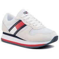 Sneakersy - flatform runner colour sneaker en0en00790 rwb 0kp marki Tommy jeans